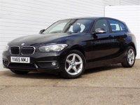 2015 BMW 1 SERIES 1.5 116D ED PLUS 5d 114 BHP £9489.00