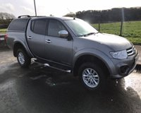 2014 MITSUBISHI L200 2.5 DI-D 4X4 TROJAN NO VAT PICK UP 175 BHP £12999.00