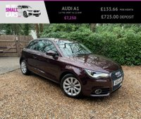 USED 2014 14 AUDI A1 1.4 TFSI SPORT 3d 122 BHP 1 OWNER FULL SERVICE HISTORY AIR CON ALLOYS STUNNING THROUGHOUT