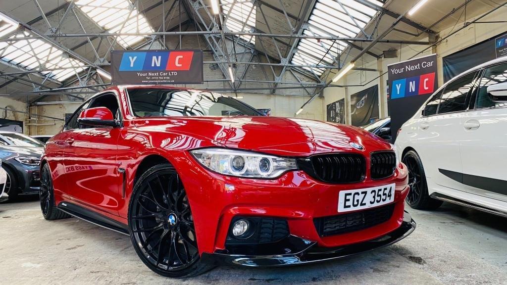 USED 2016 BMW 4 SERIES 2.0 420d M Sport 2dr PERFORMANCEKIT+20S+SUNROOF!