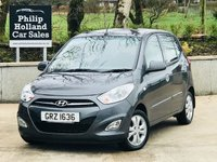 USED 2013 HYUNDAI I10 1.2 ACTIVE 5d 85 BHP Full service history, Air con, £20 Tax, Low Ins, Economical