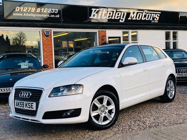 2009 59 AUDI A3 1.4 TFSI SE AUTO PANORAMIC ROOF