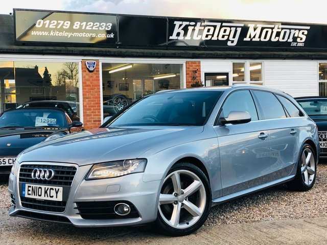 2010 10 AUDI A4 2.0 TDi AVANT S LINE SPECIAL EDITION