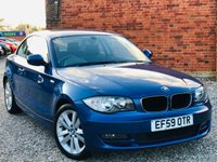 USED 2010 59 BMW 1 SERIES 2.0 118D SE 143BHP COUPE