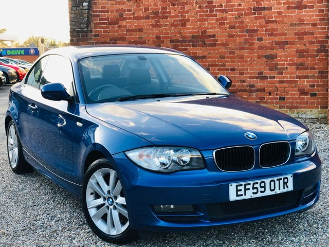 2010 59 BMW 1 SERIES 2.0 118D SE 143BHP COUPE