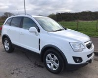 USED 2012 61 VAUXHALL ANTARA 2.2 EXCLUSIV CDTI 5d 161 BHP 6 MONTHS PARTS+ LABOUR WARRANTY+AA COVER