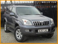 USED 2007 57 TOYOTA LAND CRUISER 3.0 INVINCIBLE D-4D 5d AUTO 171 BHP *STUNNING VEHICLE, GREAT SPEC, 8 SEATER!*