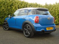 USED 2011 60 MINI COUNTRYMAN 1.6 COOPER S 5d 184 BHP SAT NAV LEATHER HEATED SEATS XENON LIGHTS PART EXCHANGE AVAILABLE / ALL CARDS / FINANCE AVAILABLE