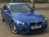2015 BMW 3 SERIES 2.0 318D M SPORT 4d 141 BHP £14395.00