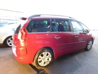 2011 CITROEN C4 GRAND PICASSO 1.6 EXCLUSIVE HDI EGS 5d AUTO 110 BHP £4999.00