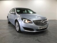 USED 2013 63 VAUXHALL INSIGNIA 2.0 SE CDTI ECOFLEX S/S 5d 160 BHP TOP SPEC VEHICLE WITH MANY EXTRAS