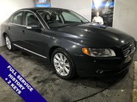 """USED 2009 59 VOLVO S80 2.0 D SE 4d 136 BHP Cruise Control : Electric Driver Seat : USB & AUX Socket : Climate Control / Air Conditioning      17"""" Alloy Wheels   :   Reverse Parking Sensors   :   Full Service History"""