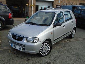 2004 SUZUKI ALTO 1.1 GL 5d 62 BHP £895.00
