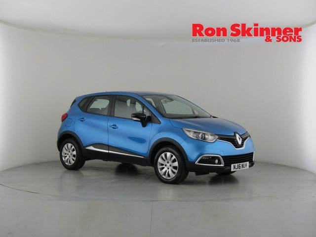 View our 2016 16 RENAULT CAPTUR 0.9 EXPRESSION PLUS TCE 5d 90 BHP
