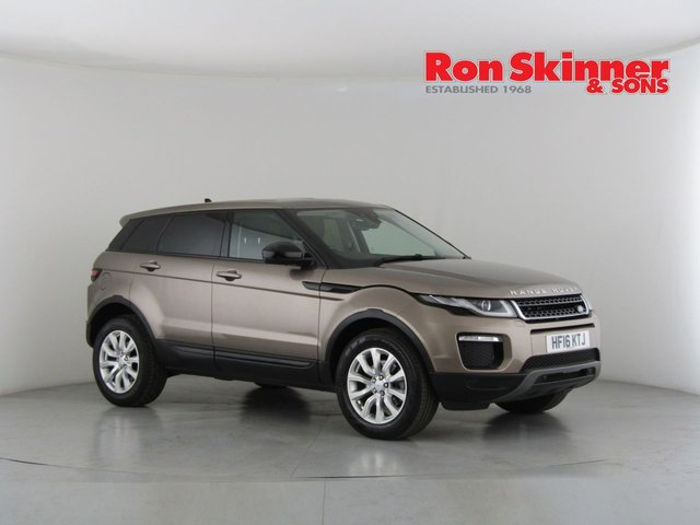 View our 2016 16 LAND ROVER RANGE ROVER EVOQUE 2.0 TD4 SE TECH 5d AUTO 177 BHP