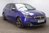 USED 2015 15 PEUGEOT 308 2.0 BLUE HDI S/S GT LINE 5DR 150 BHP FREE ROAD TAX FREE 12 MONTHS ROAD TAX + HALF LEATHER SEATS + SATELLITE NAVIGATION + REVERSE CAMERA + BLUETOOTH + PARKING SENSOR + CRUISE CONTROL + MULTI FUNCTION WHEEL + CLIMATE CONTROL + PRIVACY GLASS + XENON HEADLIGHTS + DAB RADIO + ELECTRIC WINDOWS + 18 INCH ALLOY WHEELS