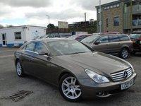2007 MERCEDES-BENZ CLS CLASS 3.0 CLS320 CDI 4d AUTO 222 BHP £5995.00