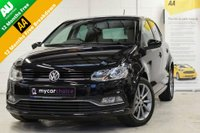 USED 2015 65 VOLKSWAGEN POLO 1.4 SE DESIGN TDI BLUEMOTION 5DR FREE TAX, OVER 80MPG, FVWSH