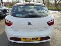 USED 2015 15 SEAT IBIZA 1.2 TSI FR 3d 104 BHP