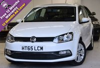USED 2016 65 VOLKSWAGEN POLO 1.2 SE TSI 5DR FAH, DAB, CHEAP TAX
