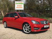 USED 2011 11 MERCEDES-BENZ C-CLASS 2.1 C220 CDI BLUEEFFICIENCY SPORT ED125 5dr AUTO Sat Nav, Leather, Camera, FMSH