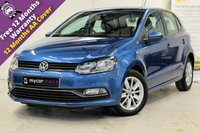 USED 2016 16 VOLKSWAGEN POLO 1.4 SE TDI BLUEMOTION 5DR CRUISE, PARK PACK