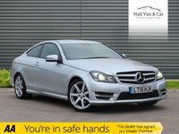 USED 2015 15 MERCEDES-BENZ C-CLASS 2.1 C220 CDI AMG SPORT EDITION PREMIUM 2d AUTO 168 BHP FMBSH,SAT NAV,BLUETOOTH,ALLOYS