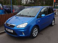 2007 FORD C-MAX 2.0 ZETEC 5dr, Automatic £4500.00