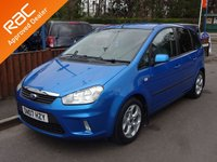 USED 2007 07 FORD C-MAX 2.0 ZETEC 5dr, Automatic YES ONLY 68,000 MILES FROM NEW, 12 MONTHS MOT