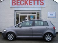 USED 2009 09 VOLKSWAGEN GOLF PLUS 1.9 BLUEMOTION TDI 5d 103 BHP