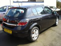 USED 2009 59 VAUXHALL ASTRA 1.4 ACTIVE 5d 89 BHP