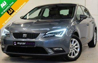 2015 SEAT LEON 1.6 TDI SE TECHNOLOGY DSG 5DR SEMI AUTOMATIC £9800.00