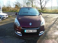 USED 2013 62 RENAULT SCENIC 1.5 DYNAMIQUE TOMTOM ENERGY DCI S/S 5d 110 BHP