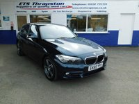 2015 BMW 1 SERIES 1.5 116D SPORT 5d 114 BHP £9979.00