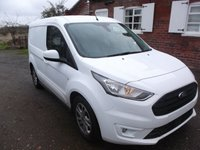 2019 FORD TRANSIT CONNECT L1 H1 Transit Connect 120ps Auto Limited, Air Con, led load lights £16999.00