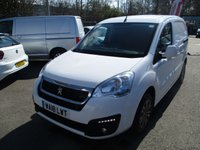 USED 2018 18 PEUGEOT PARTNER L1 850 Professional 100ps (2xSLD, Look Pack, Front PDC & Folding Mirrors) Look Pack Twin Side Doors
