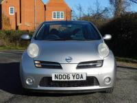 USED 2006 06 NISSAN MICRA 1.6 Pink 2dr Fantastic Value Convertible