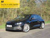 USED 2014 14 VOLKSWAGEN SCIROCCO 2.0 TDI BLUEMOTION TECHNOLOGY DSG 2d AUTO 140 BHP