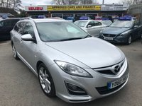 2010 MAZDA 6 2.2 D SPORT 5d 180 BHP SILVER ESTATE WITH ALLOYS 6 DISC CHANGER HUGE SPEC 83000 MILES £4999.00