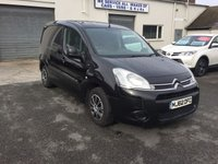 2012 CITROEN BERLINGO 1.6 625 ENTERPRISE L1 HDI 1d 74 BHP *REAR PARKING SENSORS* £4250.00