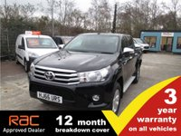 2017 TOYOTA HI-LUX Icon 4WD 2.4 Double Cab *Load Liner* £15995.00