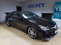 USED 2014 14 MERCEDES-BENZ E-CLASS 2.1 E250 CDI AMG SPORT 2d AUTO 204 BHP * TWO OWNERS * SUPERB SPEC *
