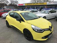USED 2013 63 RENAULT CLIO 1.5 DYNAMIQUE S MEDIANAV ENERGY DCI S/S 5 DOORS 90 BHP LOW MILES SAT NAV ONE LADY OWNER WITH A FULL SERVICE HISTORY. APPROVED CARS AND FINANCE ARE PLEASED TO OFFER OUR RENAULT CLIO 1.5 DYNAMIQUE S MEDIA NAV ENERGY DCI S/S 5 DOOR 90 BHP IN BRILLIANT YELLOW WITH LOW MILEAGE AND ONE LADY OWNER AND A FULL SERVICE HISTORY MOSTLY RENAULT MAIN DEALER AND A HUGE SPEC INCLUDING ALLOY WHEELS,POWER STEERING,AIR CONDITIONING,ABS,CD PLAYER,SAT NAV, REAR PARKING SENSORS AND MUCH MORE. PLEASE CALL 01622-871-555 TO BOOK A TEST DRIVE TODAY.
