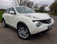 USED 2014 63 NISSAN JUKE 1.5 ACENTA DCI 5d + 1 FORMER KEEPER WITH 2 KEYS