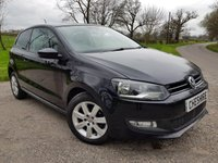 2013 VOLKSWAGEN POLO 1.2 MATCH EDITION 3d + 2 FORMER KEEPERS + 2 KEYS £5775.00