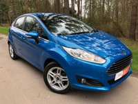 USED 2013 63 FORD FIESTA 1.0 ZETEC 5d 99 BHP 1 OWNER FROM NEW AIR CON 2 KEYS FULL SERVICE HISTORY