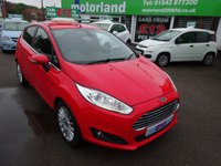 USED 2013 62 FORD FIESTA 1.0 TITANIUM 5d 99 BHP ** 01543 877320 ** JUST ARRIVED ** FULL SERVICE HISTORY **