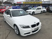 2011 BMW 3 SERIES 2.0 320D M SPORT 4d AUTO 181 BHP ALLOYS BLUETOOTH HEATED SEATS FULL LEATHER £7299.00