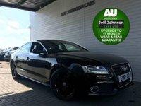 2011 AUDI A5 2.0 SPORTBACK TDI S LINE 5d 141 BHP £9495.00