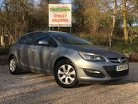 USED 2015 15 VAUXHALL ASTRA 1.6 DESIGN CDTI ECOFLEX S/S 5dr £0 Tax, 1 Owner, Cruise